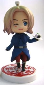 main photo of One Coin Grande Figure Collection Hetalia: France Dessert Ver.