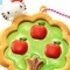 Hello Kitty Sparkly Clear Cookie Mascot: Hello Kitty Apple Tree