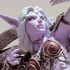 Night Elf Hunter Alathena Moonbreeze with owl Sorna