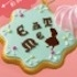 Wonderland Mirror Mascot: EAT ME Cookie