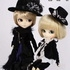 Pullip Outfit Set: Black Peace Now Campanella