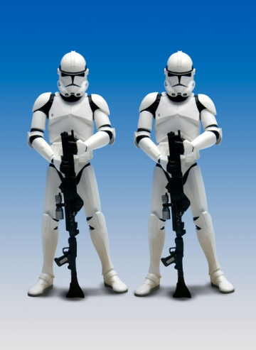 main photo of ARTFX+: Clone Trooper Revenge of the Sith Ver. 2 Pack