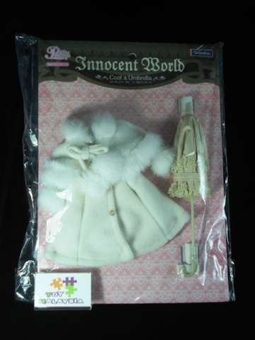 main photo of Pullip Outfit Set: Innocent World Umbrella & Coat
