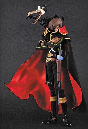 main photo of Real Action Heroes Captain Harlock
