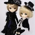 Pullip Outfit Set: Black Peace Now Giovanni