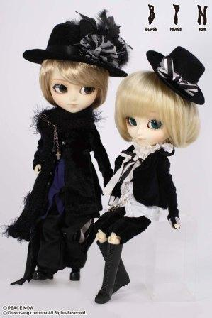 main photo of Pullip Outfit Set: Black Peace Now Giovanni