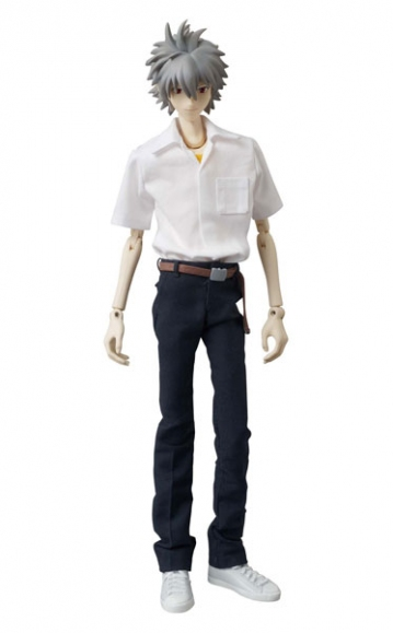 main photo of Real Action Figure No.585 Nagisa Kaworu School Uniform Ver.