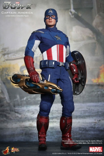 main photo of Movie Masterpiece Captain America Avengers Ver.