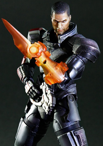 main photo of Play Arts Kai Commander Shepard
