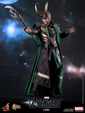 main photo of Movie Masterpiece Loki The Avengers Ver.