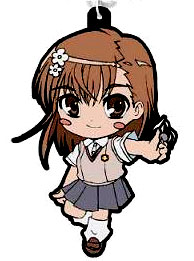 main photo of Toaru Majutsu no Index II Rubber Strap: Mikoto Misaka