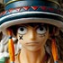 Door Painting Collection Figure Monkey D. Luffy Animal ver.