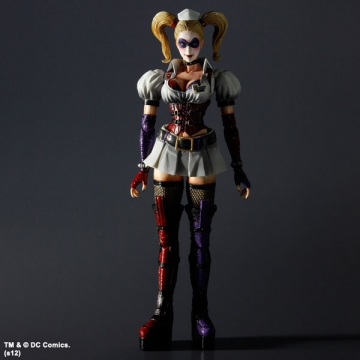 main photo of Play Arts Kai Harley Quinn Arkham Asylym Ver.