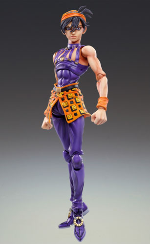 main photo of Super Action Statue Narancia Ghirga & Aerosmith