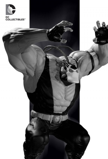 main photo of Batman Black & White Statue Vein