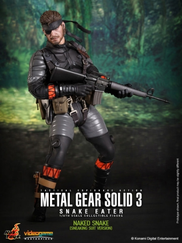 main photo of Video Game Masterpiece Naked Snake Sneaking Suit Edition Ver.