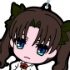 Ichiban Kuji Kyun-Chara World Fate/Zero Part 1 Rubber Strap: Tohsaka Rin