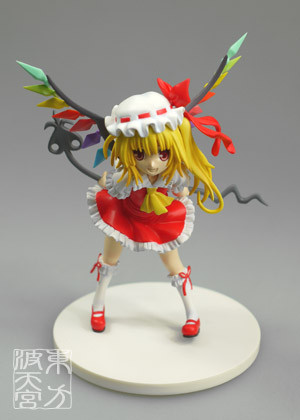 main photo of Touhou Gakkaranbu Trading Figure Collection Vol. 5: Flandre Scarlet