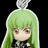 Code Geass Swing Strap Figures: C.C