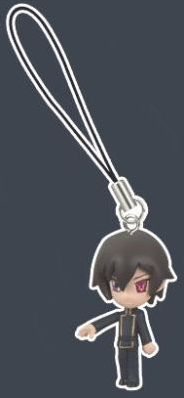 main photo of Code Geass Swing Vol.2 Strap Figures: Lelouch Lamperouge