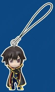 main photo of Code Geass Swing Strap Figures: Lelouch Lamperouge