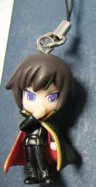 main photo of Lelouch of the Rebellion Cellphone Strap: Lelouch Lamperouge