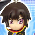 Code Geass Swing Strap Figures: Lelouch Lamperouge