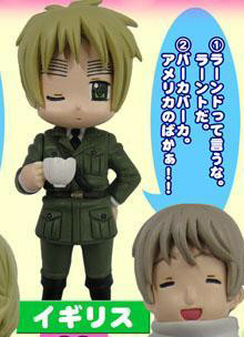 main photo of Hetalia Voice Mascot: England