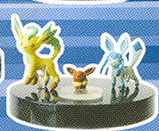 main photo of Dialga Edition: Eevee, Glaceon, Leafeon