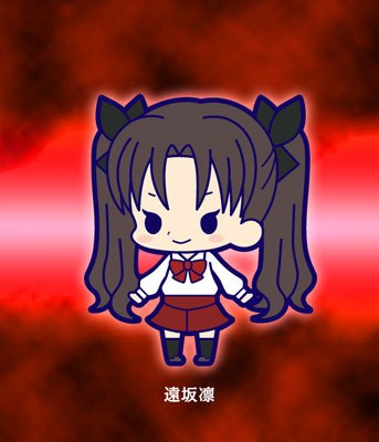 main photo of Fate/Zero Rubber Strap Collection Chapter 2: Tohsaka Rin