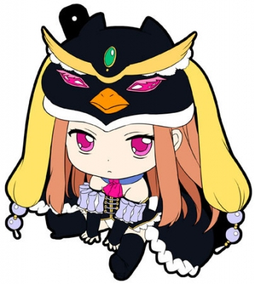 main photo of Petanko Mawaru Penguindrum Trading Rubber Strap: Princess of the Crystal