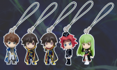 photo of Code Geass Swing Strap Figures: Kallen Kouzuki