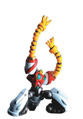 main photo of Revoltech Yamaguchi Series No.017 Getter 3