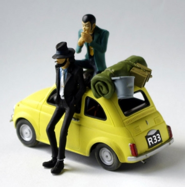 main photo of Treasure On Desk Figure Act.2: Jigen Daisuke & Lupin the 3rd