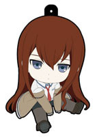 main photo of Petanko Steins;Gate Trading Rubber Strap: Makise Kurisu