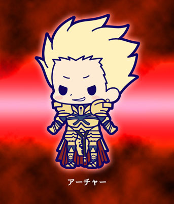 main photo of Fate/Zero Rubber Strap Collection Chapter 2: Gilgamesh
