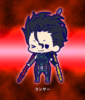 main photo of Fate/Zero Rubber Strap Collection Chapter 2: Lancer