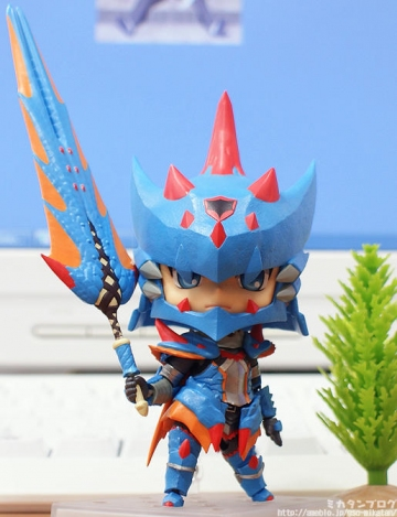 main photo of Nendoroid Hunter: Male Swordsman – Lagia X Edition