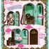 Doll Case Angelic Pretty Chess Chocolate Mint ver.
