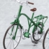 ex:ride: ride.002 - Classic Bicycle: Metallic Green