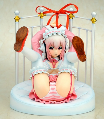 main photo of Super Sonico Lolita Maid ver. + Bed Base Set