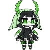 photo of Black Rock Shooter Rubber Strap: Dead Master