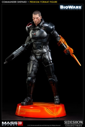 main photo of Premium Format Figure Commander Shepard