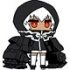 Black Rock Shooter Rubber Strap: Strength
