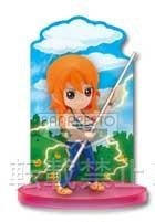 main photo of Ichiban Kuji One Piece Girl's Collection: Nami Card Stand Figure
