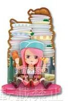 main photo of Ichiban Kuji One Piece Girl's Collection: Jewelry Bonney Card Stand Figure