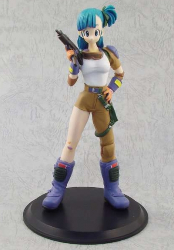 main photo of Deluxe Figure PICHI PICHI Gal: Bulma Motocross Part 2