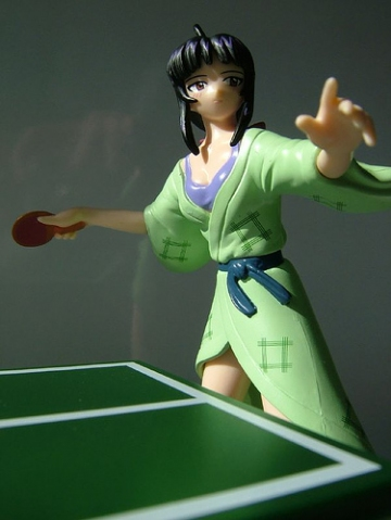 main photo of Visual Package Figure Ping Pong/Onsen Set: Kanako Urashima