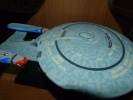 photo of U.S.S. Enterprise NCC-1701-D  White Color TV Image Ver.
