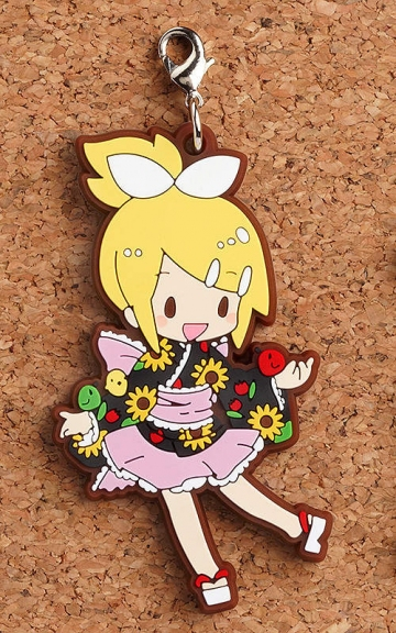 main photo of Rubber Straps: Vocaloid Yukata Ver. Kagamine Rin
